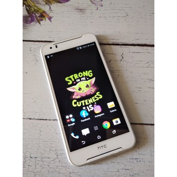 Sprawny smartfon HTC Desire 830 dual SIM