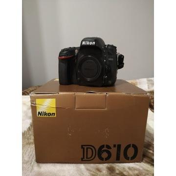 Nikon D610 + dodatki