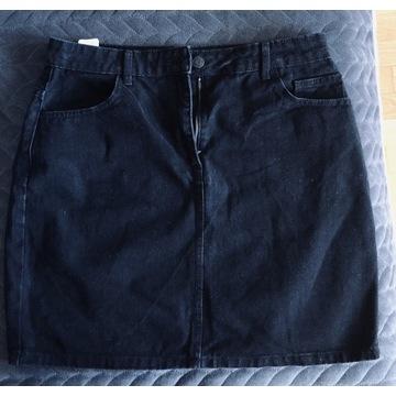 Spódniczka jeansowa czarna  CROPP 42Nowa bez metki
