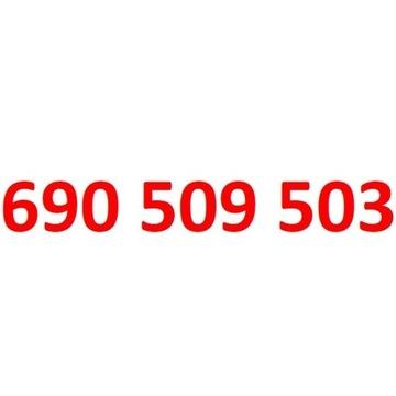690 509 503 starter orange złoty numer