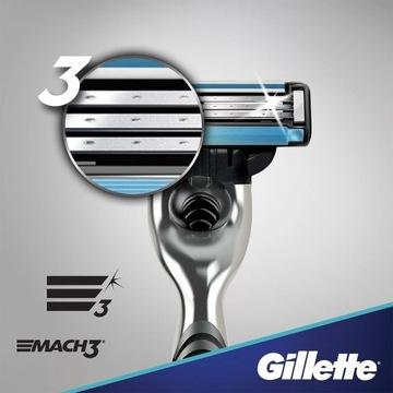 Maszynka Do Golenia Gillette Mach3 + 2 Ostrza Oryg