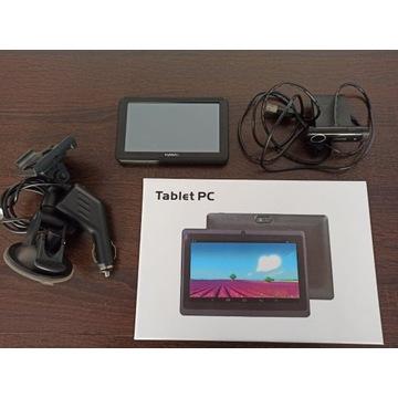 Zestaw Przedmiotów Tablet + Navigacja + Kamerka