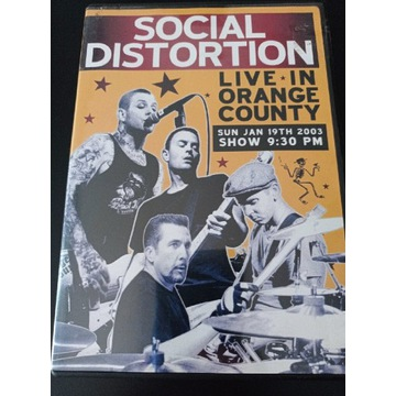 SOCIAL DISTORTION live in orange county DVD