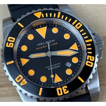 Helson Shark Diver 2000 - 200 ATM