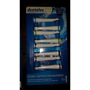 Końcówki główki szczoteczki Dentalux DAZ DAZD