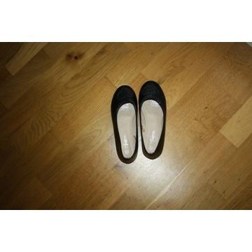 baleriny czarne, rozmiar 33