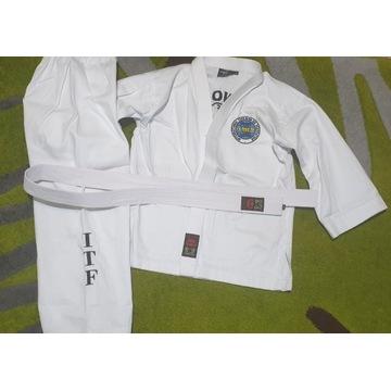 DOBOK Teakwondo ITF Jak nowy dobra jakość  R. 140