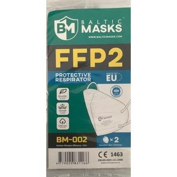Maseczka filtrująca Baltic Masks FFP2 BM-002 Atest