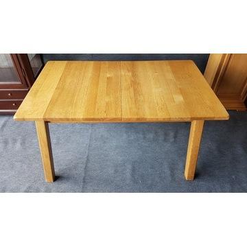 stół rozkładany dębowy - dąb 100%