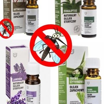 Olejki na komary  w zestawie 4 olejki :) HIT !!!!!
