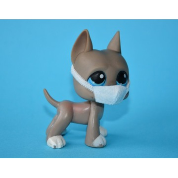 Piesek Dog #184 Littlest Pet Shop LPS ORYGINAŁ