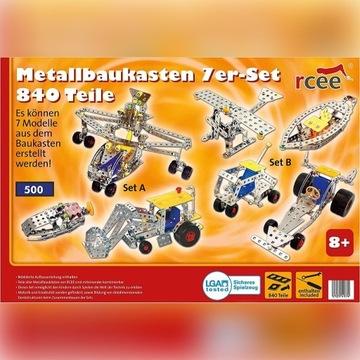 Niemiecki Mały konstruktor,klocki  konstrukcyjne