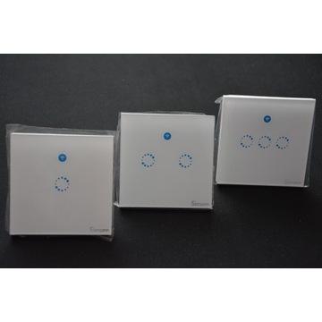 Sonoff Touch włączniki WiFi+RF 1,2,3-kanały OKAZJA