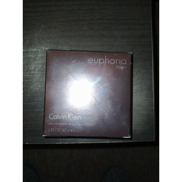 Calvin Klein Euphoria MEN 30ML NOWE