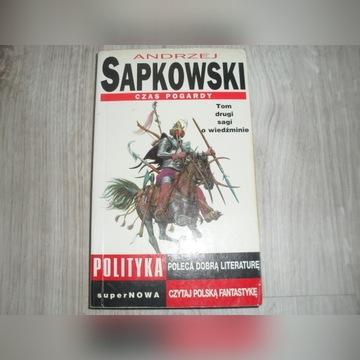 Andrzej Sapkowski Wiedźmin Czas Pogardy