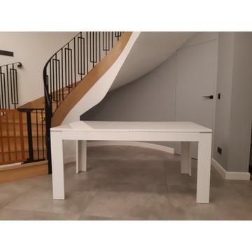 Stół biały 160 x 90 cm z opcją przdluzenia do 210
