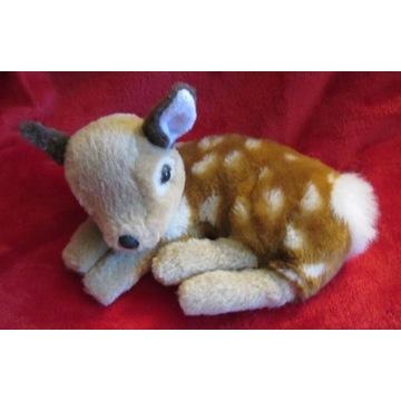 Sarenka Bambi pluszowa maskotka leżąca