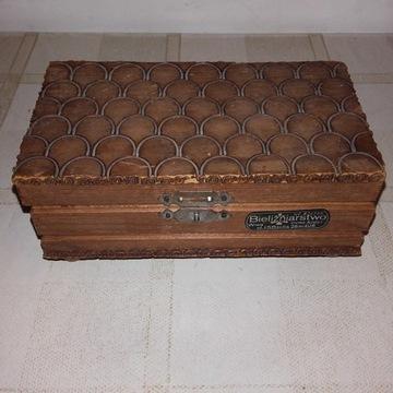 Drewniana szkatułka na bibeloty warszawa