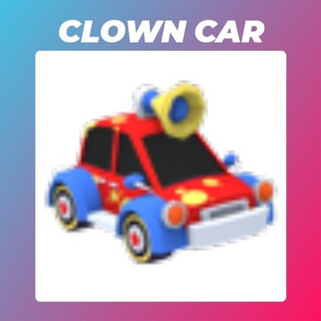 Roblox Adopt Me Clown Car