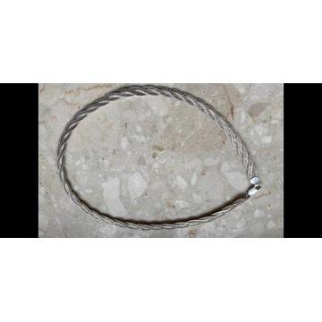 Srebrny naszyjnik łancuszek damski 20g 925pr