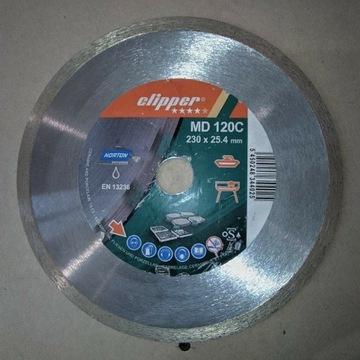 Tarcza Clipper MD120C 230x25,4mm Norton