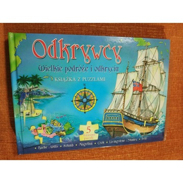 Książka z puzzlami Odkrywcy Wielkie podróże