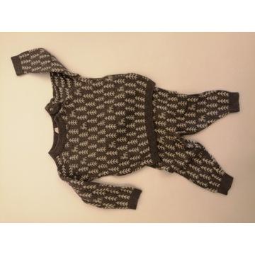 2 sweterkowe zestawy H&m 74