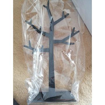Stojak na biżuterię czarne drzewko Meble VOX nowe