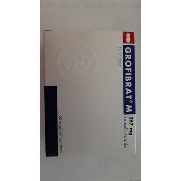 Grofibrat M, 267 mg, 60 kapsułek twardych