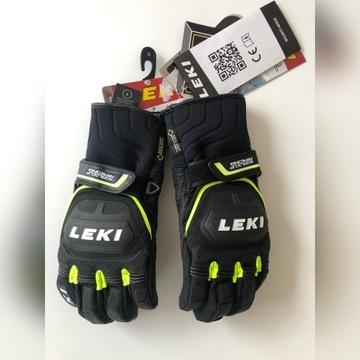 Rękawice narciarskie męskie rozmiar 8.0 LEKI