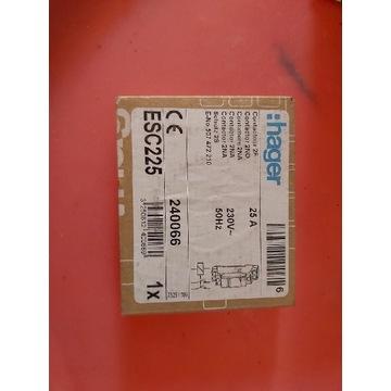 Hager Stycznik 2NO 25A 230V AC