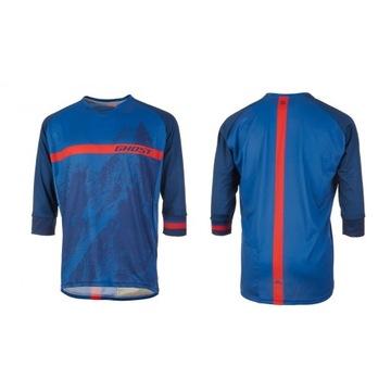 Męska koszulka MTN Ride Line GHOST 3/4 rozmiar M