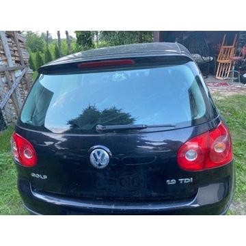 Klapa tył VW Golf V 5 Wszystkie części
