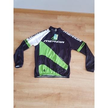 Nowa ocieplana bluza kolarska , rowerowa XL