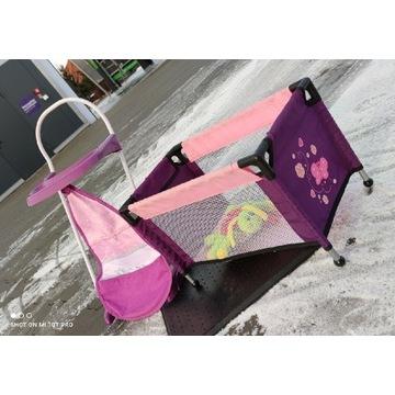 Łóżeczko i krzesełko dziecięce dla lalki