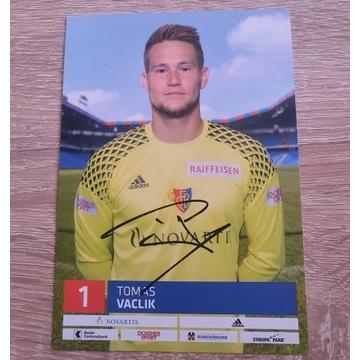 Autograf Tomas Vaclik - FC Basel