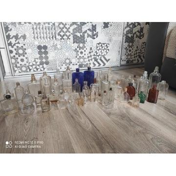 Stare buteleczki po perfumach Zestaw 50 sztuk