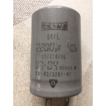 Kondensator elektrolityczny