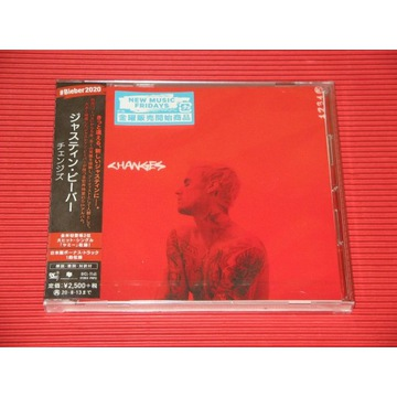 JUSTIN BIEBER Changes JAPAN CD + OBI Bonus Track
