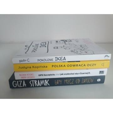 Zestaw 4 książek