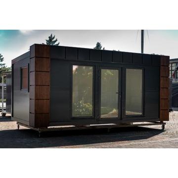 Kontener biurowy 6x3 socjalny mieszkalny pawilon