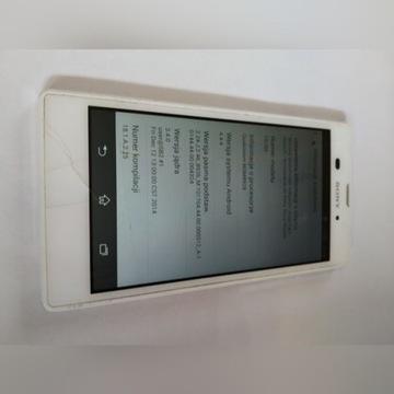 Sony Xperia T3 D5103 uszkodzony nie czyta sim