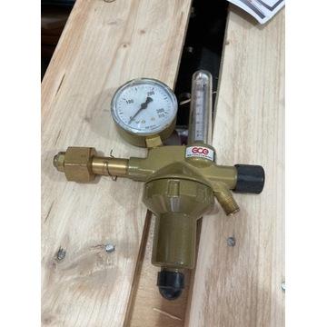 Reduktor GCE do Ar/CO2 z rotametrem