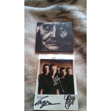 Paradise Lost One Second autografy