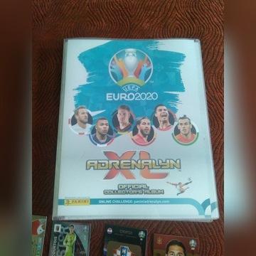 PANINI EURO 2020 ALBUM PLUS 120 KART 50 SPECJAL