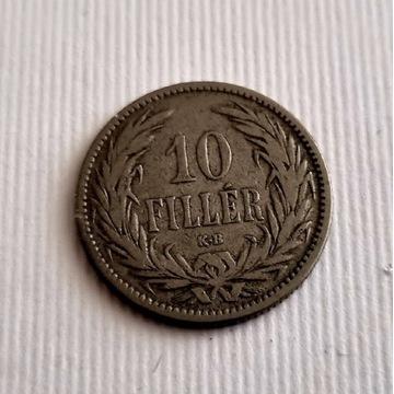 10 Filler 1894r. Franciszek Józef I Stan II/III