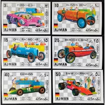 Motoryzacja - AJMAN** de luxe 1971