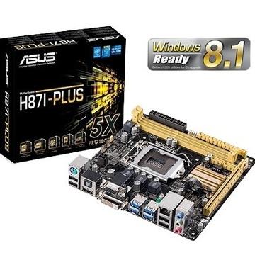 Asus H87I-PLUS DDR3 mITX +Intel i3-4130 (H81I-Plus