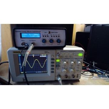 Generator Funkcji z Miernikem Częstotliwości