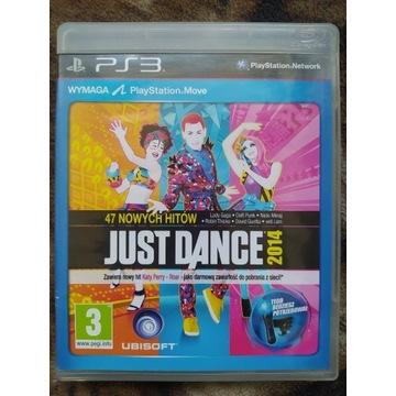 JUST DANCE 2014 PS3 PLAYSTATION 3 POLSKIE WYDANIE